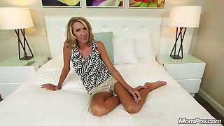LEAKED: Milf does Porn on MomPov to get back at Husband