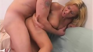 Sensual Doggy Fuck With German Blonde Lady